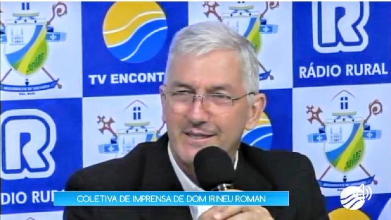 Dom Irineu Roman evita falar sobre criação do Estado do Tapajós