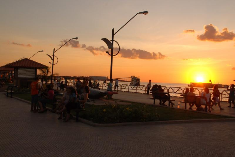 Orla de Santarém será palco do projeto Pôr do Sol nesta sexta (31)