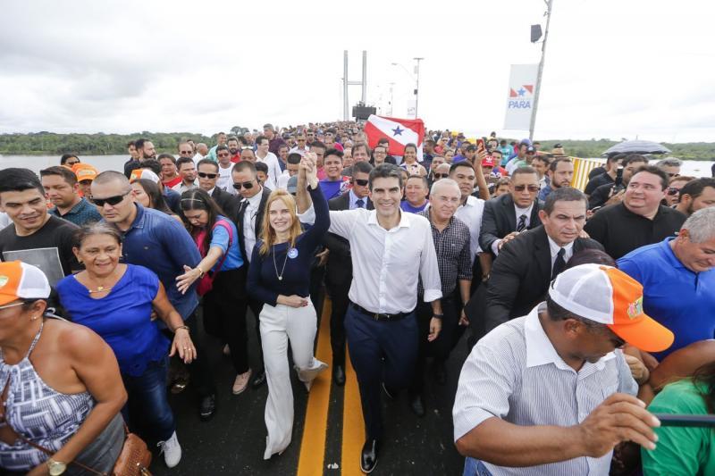 Ponte União é inaugurada e tráfego de veículos na Alça Viária está liberado