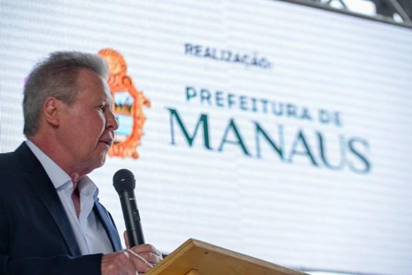 'Manaus vive seu melhor momento financeiro', diz prefeito sobre incremento de 9% no tesouro