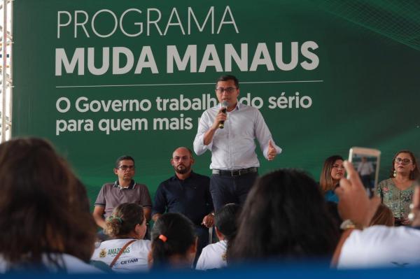 Wilson Lima entrega Centro de Convivência do Mutirão revitalizado por reeducandos da Seap