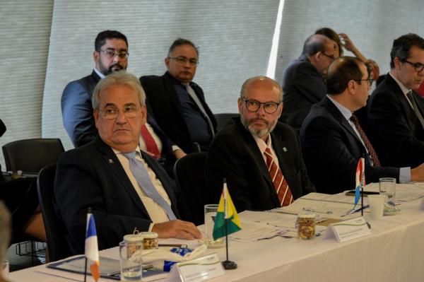Presidente do TCE-AM assume conselho fiscal da Atricon, em Brasília