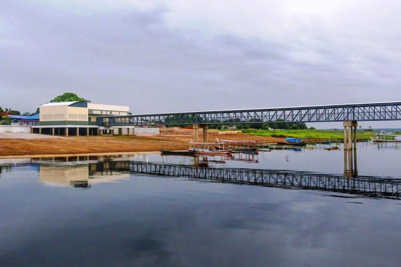 Faro ganha novo Terminal Hidroviário que vai beneficiar 12 mil moradores