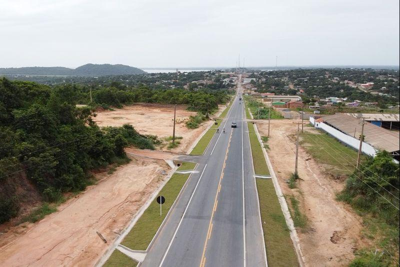 Pavimentação da PA-437 incentiva desenvolvimento em Óbidos