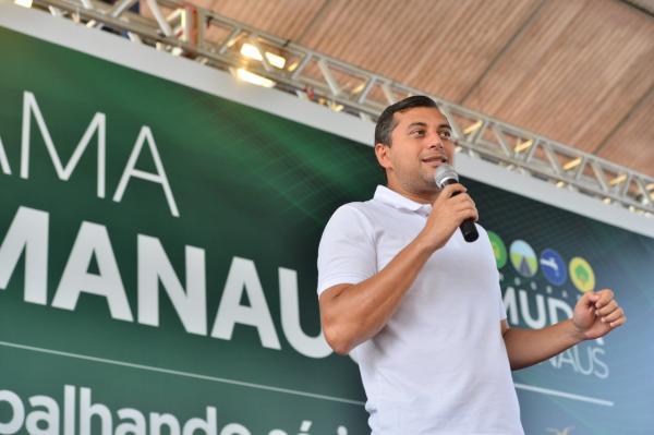 Wilson Lima lança 'Escola Segura, Aluno Cidadão' em último dia do 'Muda Manaus'