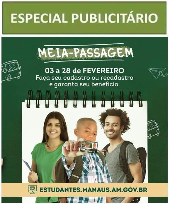 MEIA PASSAGEM - PUBLICIDADE