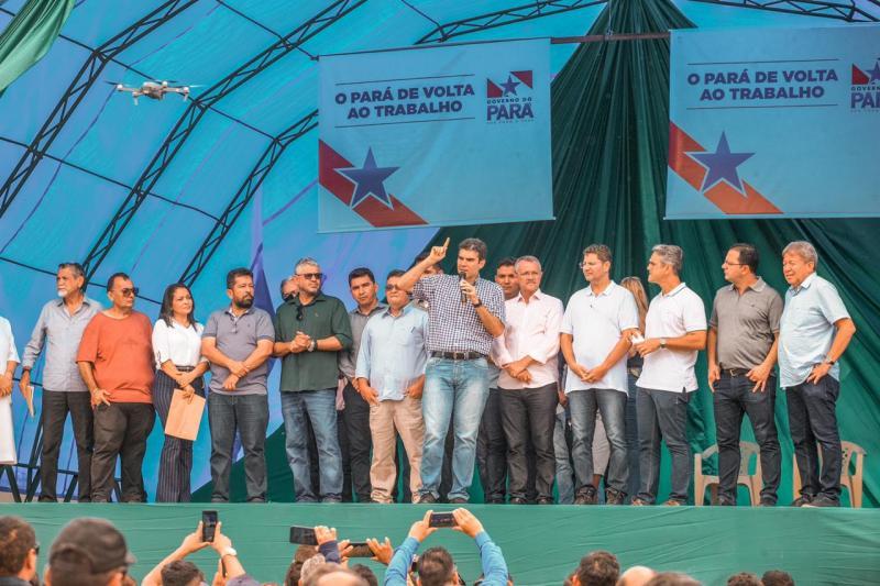 Governo entrega pavimentação da PA-423 em Monte Alegre