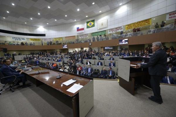 'Refundamos Manaus e a preparamos para o futuro', diz Arthur Neto ao abrir Ano Legislativo