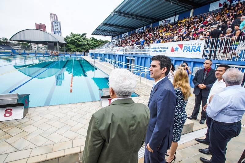 Governo reabre Parque Aquático da Universidade do Estado do Pará