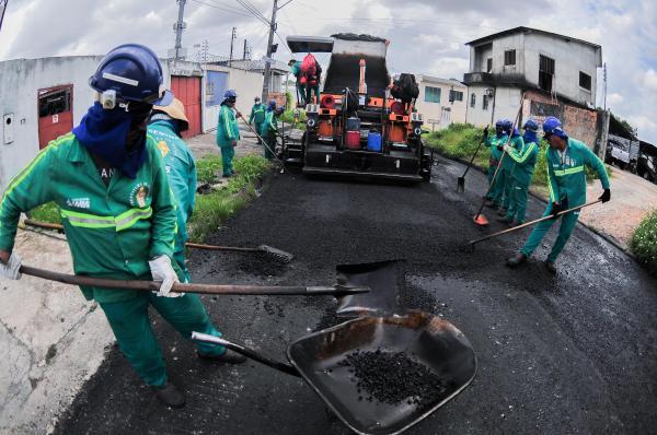 'Requalifica 4': Grandes corredores da Cidade Nova, em Manaus, são recapeados