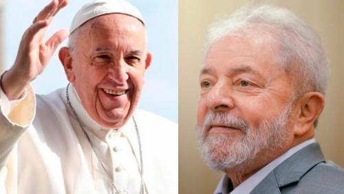 Lula será recebido pelo Papa Francisco nesta quinta-feira (13), no Vaticano