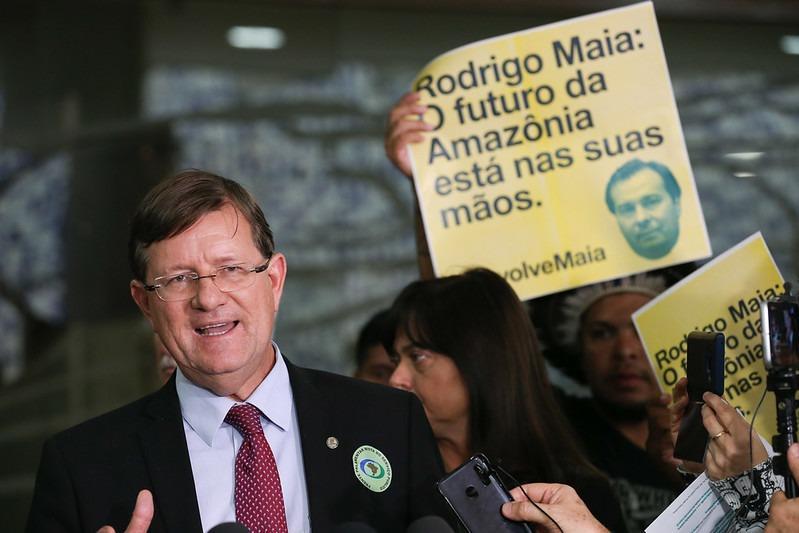 Zé Ricardo apresenta PDL que trava decreto de Bolsonaro sobre Conselho Nacional da Amazônia