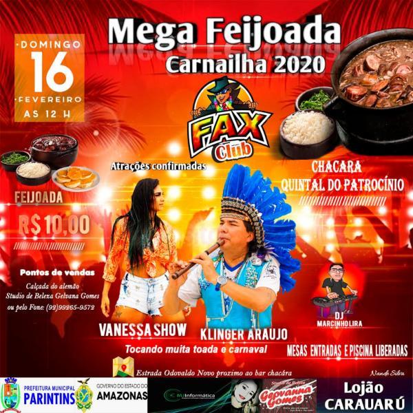 Fax Clube movimenta domingão (16) com Klinger Araújo e Vanessa Show, em feijoada