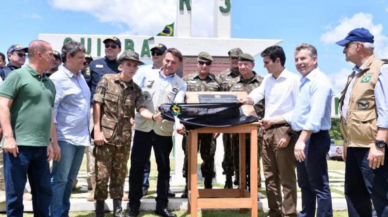 Bolsonaro inaugura 51 quilômetros de pavimentação da rodovia BR-163