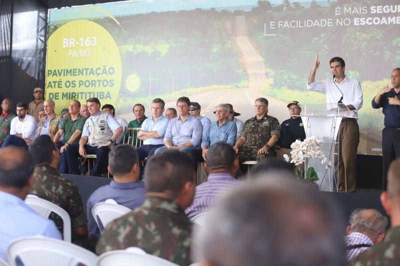 Santarém-Cuiabá ganha 51 km de pavimentação, entre Itaituba e Mato Grosso