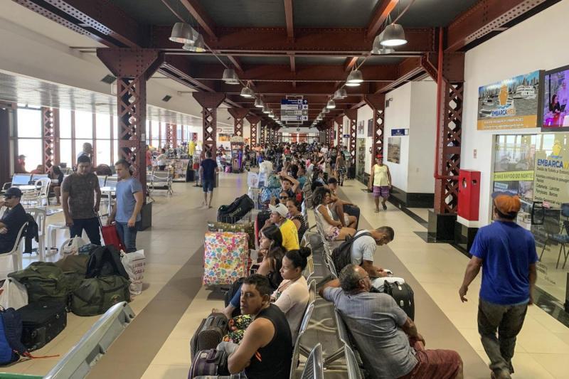 Terminal Hidroviário de Belém deve receber 18 mil usuários no Carnaval