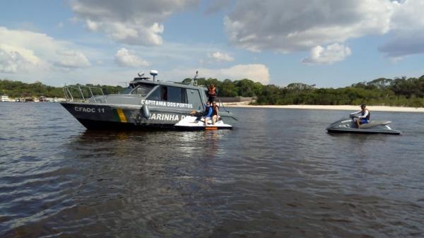 Marinha intensifica fiscalização em áreas de Manaus no período de Carnaval