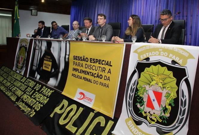 Alepa discute sobre a implementação da Polícia Penal do Pará