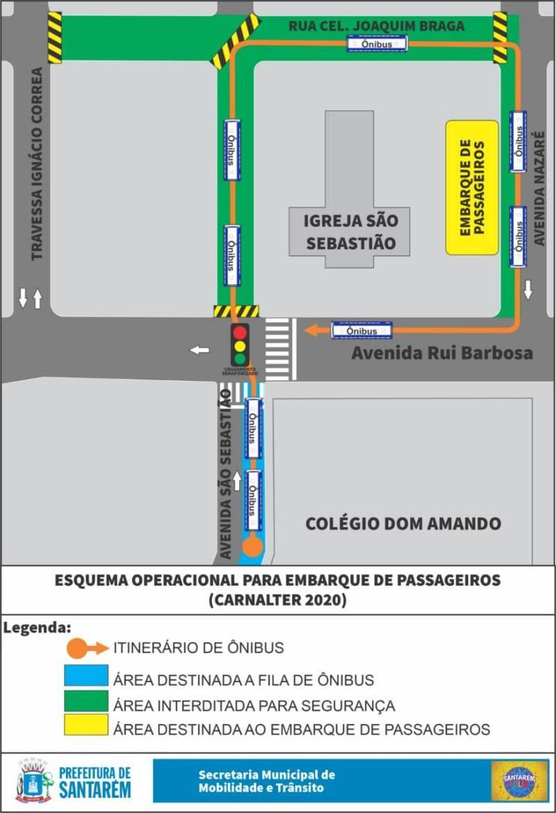 Definidas as ações de trânsito para o Cristoval e Carnaval, em Santarém