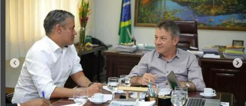 De olho na Prefeitura de Manaus, Josué Neto incentiva instalação de empresa em Roraima