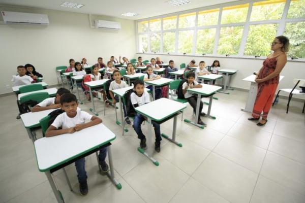 Rede municipal de Manaus reduziu em 84,4% o abandono escolar