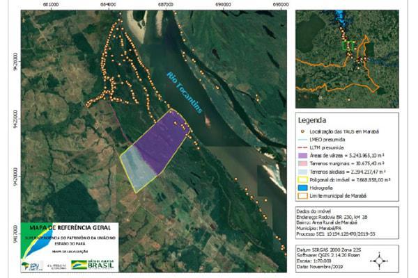 MPF pede que Justiça bloqueie fazenda em Marabá (PA) por ocupar 5,2 mil km de terras da União