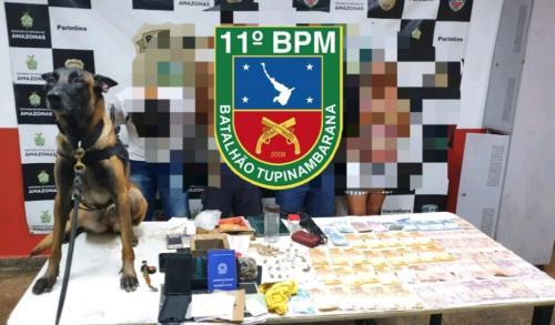 PM deflagra 'Operação Ratoeira' e prende traficantes, em Parintins