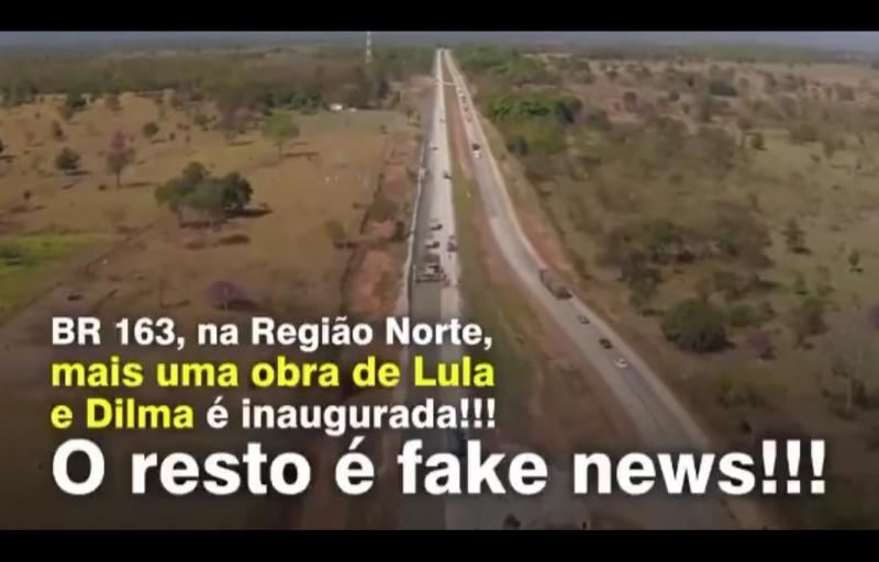 Beto Faro diz que BR Santarém-Cuiabá foi asfaltada pelos governos do PT