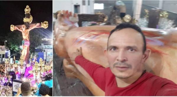 Leandrinho Rodrigues, o parintinense que fez o 'Cristo Negro', da Mangueira