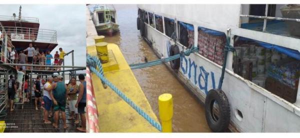 Anna Karoline 3 viajava com grande quantidade de carga durante naufrágio