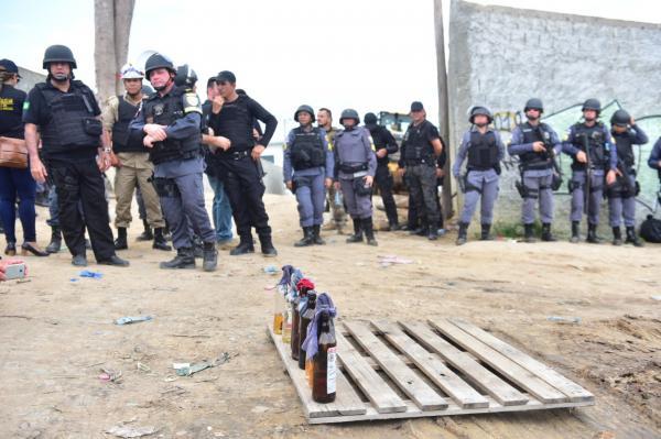 SSP/AM aponta ação de traficantes durante manifestação no Viver Melhor, em Manaus
