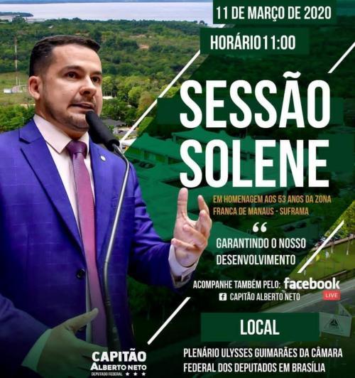 Com ZFM no 'corredor da morte', Alberto Neto faz sessão para 'promover' Menezes