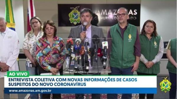 Manaus confirma primeiro caso do novo coronavírus, informa FVS/AM