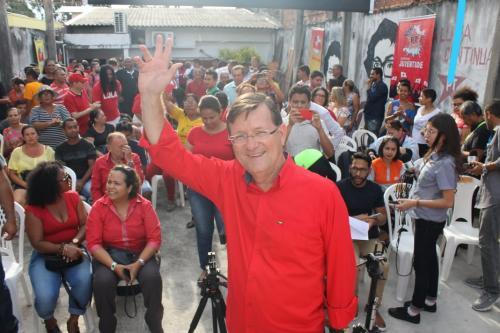 Em ato no PT, Zé Ricardo confirma sua pré-candidatura a prefeito de Manaus