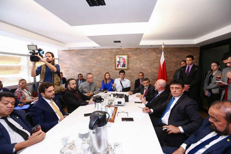 Helder pede apoio da bancada do PA para implantação da Zona Franca do Marajó