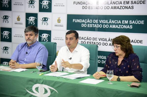 Sobe para três os casos confirmados do novo coronavírus, em Manaus