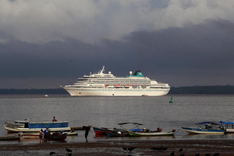 Pará antecipa fim da temporada de cruzeiros marítimos 2019-2020