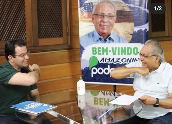 'Eleição é detalhe, saber guerrear é importante', diz Amazonino, agora no Podemos