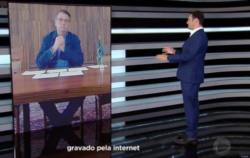 Sobre coronavírus, Bolsonaro diz que 'povo está sendo enganado por governadores e Imprensa'