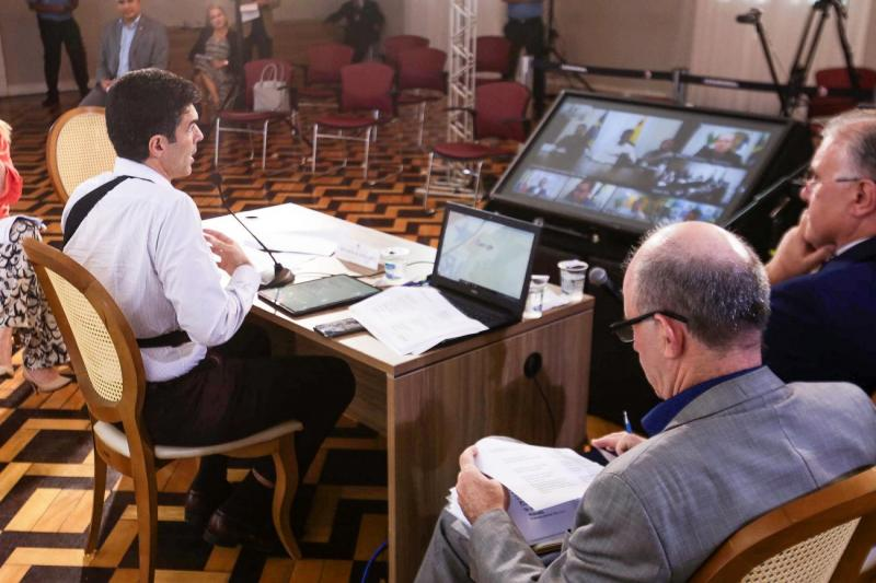 Em videoconferência com Bolsonaro, governador do Pará defende utilização dos fundos constitucionais