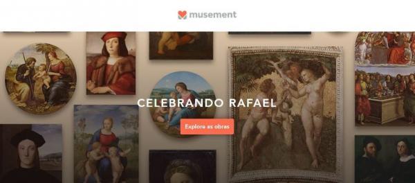 Museu virtual reúne todas as obras do pintor Rafaello em um só lugar