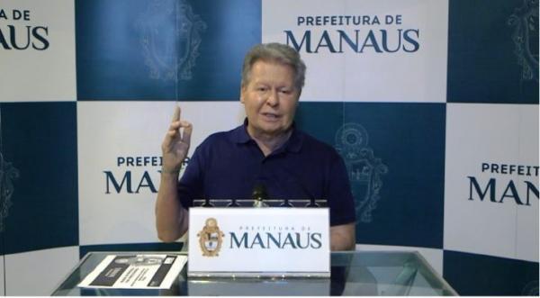 Em caráter de urgência, prefeito de Manaus anuncia seleção de mais 32 médicos bolsistas