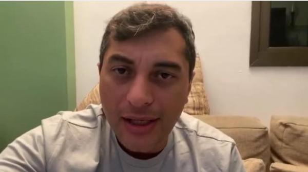 Wilson Lima rebate Bolsonaro e diz que não voltará atrás de medidas restritivas