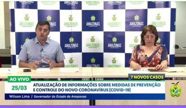 Amazonas tem 54 casos do novo Coronavírus, com uma morte