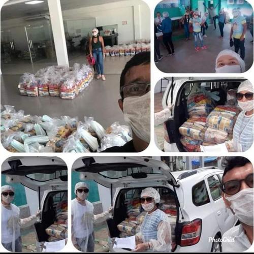 Prefeitura de Parintins faz entrega de 3 mil cestas básicas