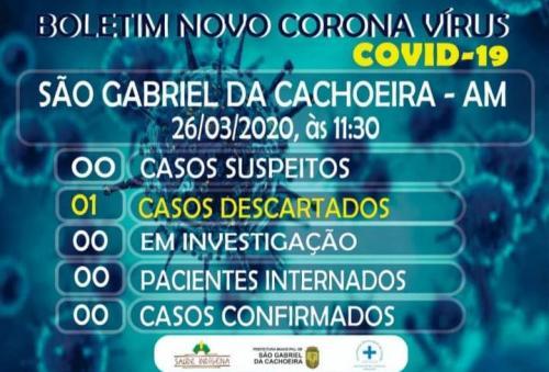 A cidade do Amazonas de 40 mil habitantes que não tem caso suspeito da Covid-19