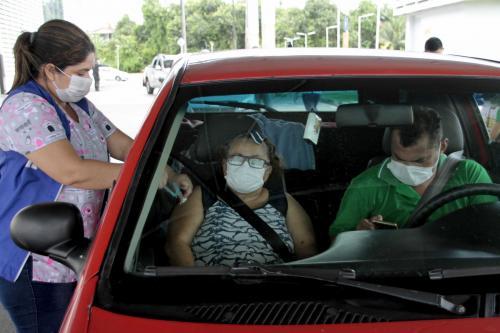 Mais de 50 mil idosos já receberam vacina contra a gripe em Manaus