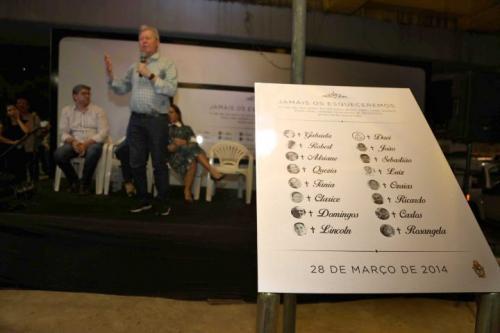 'Entraram para a história de maneira triste', diz Arthur sobre vítimas do '28 de março', em Manaus