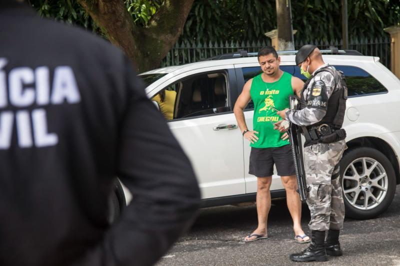 Operação paralisa carreata em Belém e detém 11 pessoas por descumprir decreto