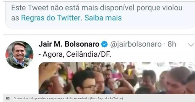 Twitter, Facebook, Instagram deletam posts do clã Bolsonaro